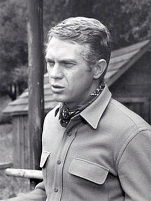 Actor Steve McQueen -- died of malignant mesothelioma